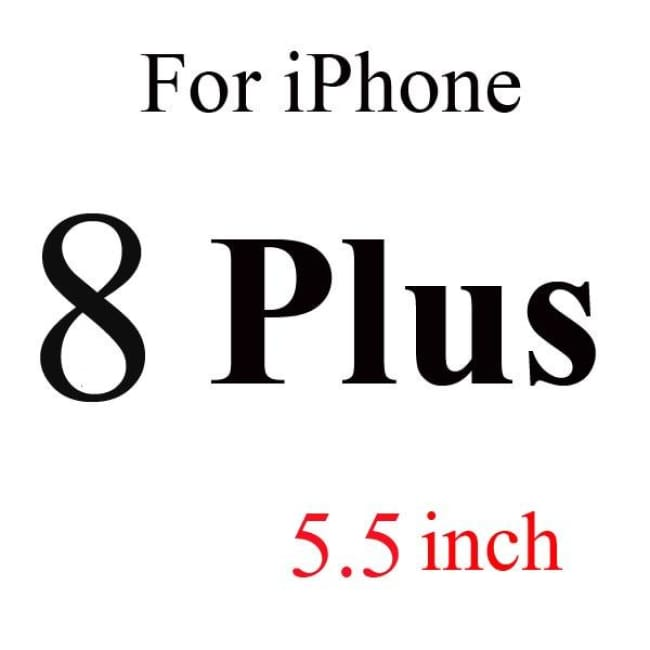 Ultra-Thin Iphone Screen Protector Panel - For Iphone 8 Plus