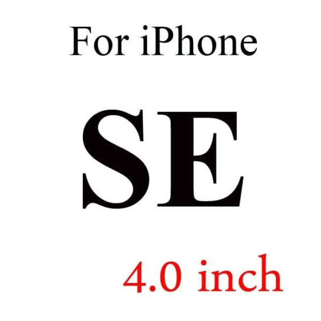 Ultra-Thin Iphone Screen Protector Panel - For Iphone Se