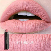 Waterproof Matte Lipstick In 19 Colors - Brave