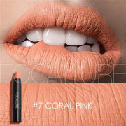 Waterproof Matte Lipstick In 19 Colors - Coral Pink