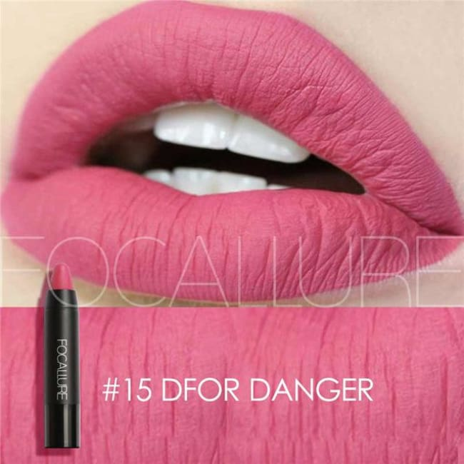 Waterproof Matte Lipstick In 19 Colors - D For Danger