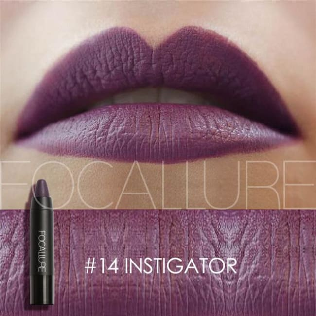 Waterproof Matte Lipstick In 19 Colors - Instigator