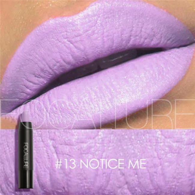 Waterproof Matte Lipstick In 19 Colors - Notice Me