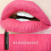 Waterproof Matte Lipstick In 19 Colors - Razzmatazz