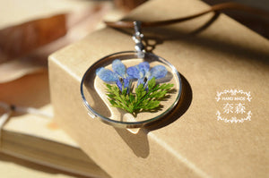 Handmade Natural Flower Necklace