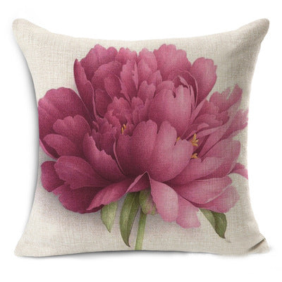 Home Decor Vintage Flowers Cushion Cover