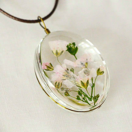 New Gypsophila Flower Necklace