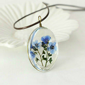 New Arrival Dried Flower Necklace