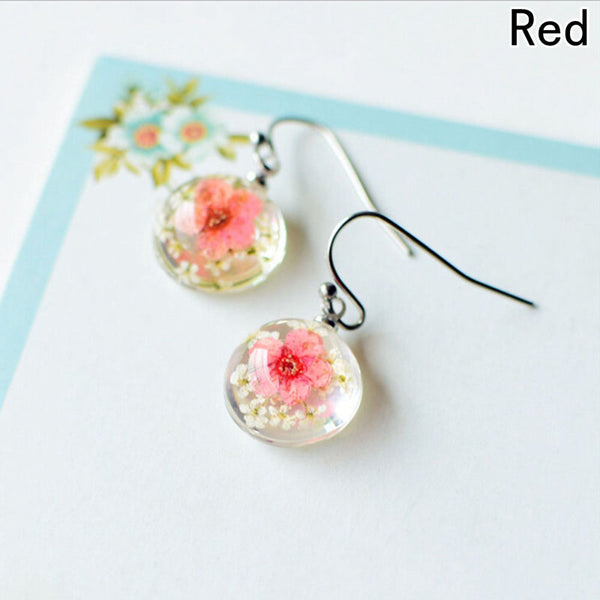 Creative Beautiful New Glass Ball Earring