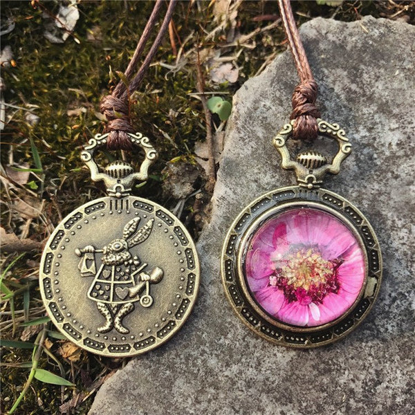 Bohemia Real Dried Flower Necklace