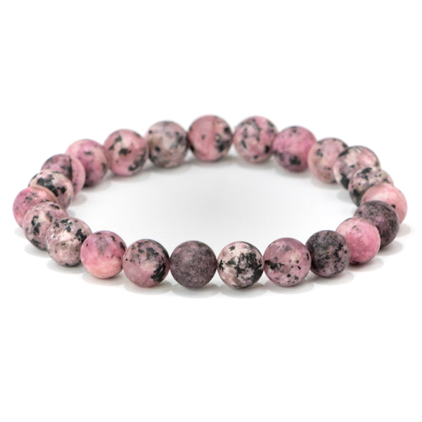Pink Gemstone Bracelet | Anxiety Relief