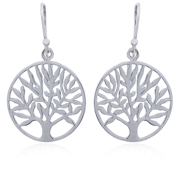 Sterling Silver Tree of Life Drops