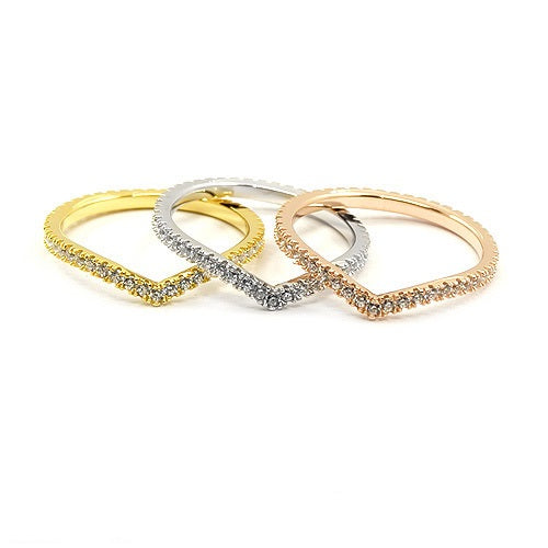Sterling Silver Three Stacking Rings