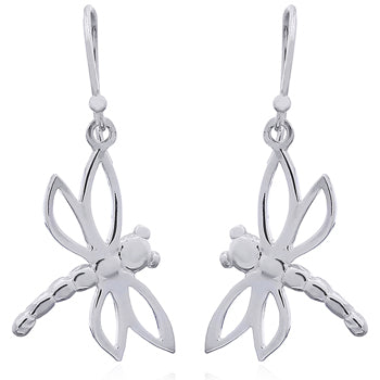 Sterling Silver Dragonfly Drops