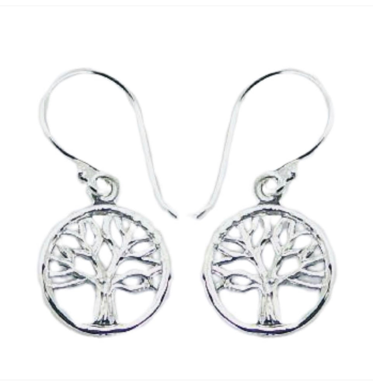 Sterling Silver Small Tree of Life Drops