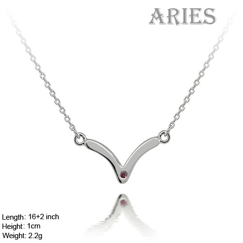 Sterling Silver Zodiac Aries