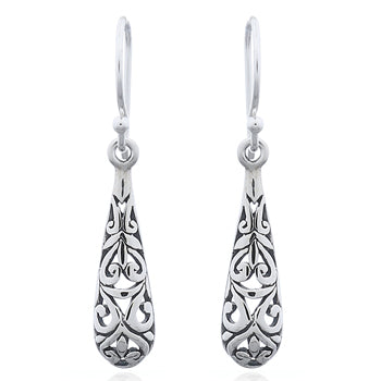 Sterling Silver Celtic Antique Drops