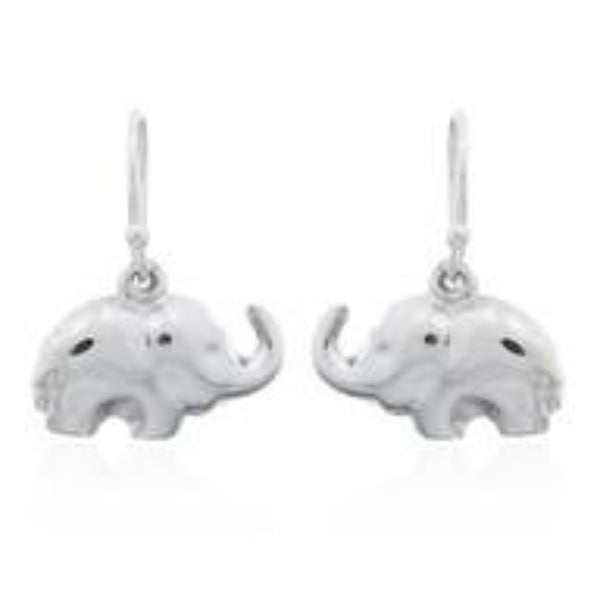 Sterling Silver Elephant Drops