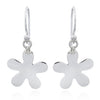 Sterling Silver Petal Drop Earrings