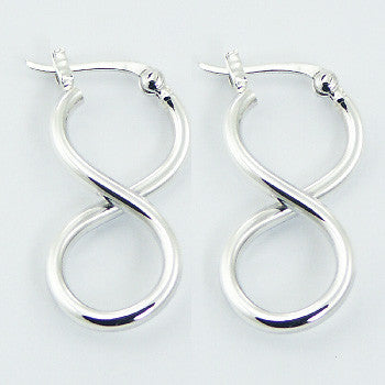 Sterling Silver Infinity Drops