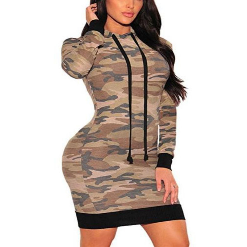 Robe Sweat à Capuche MILITARY
