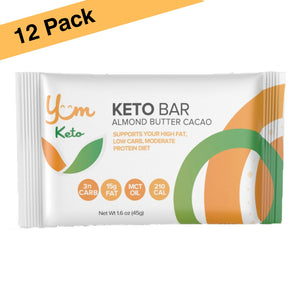 Yum Keto Bar 12 Pack