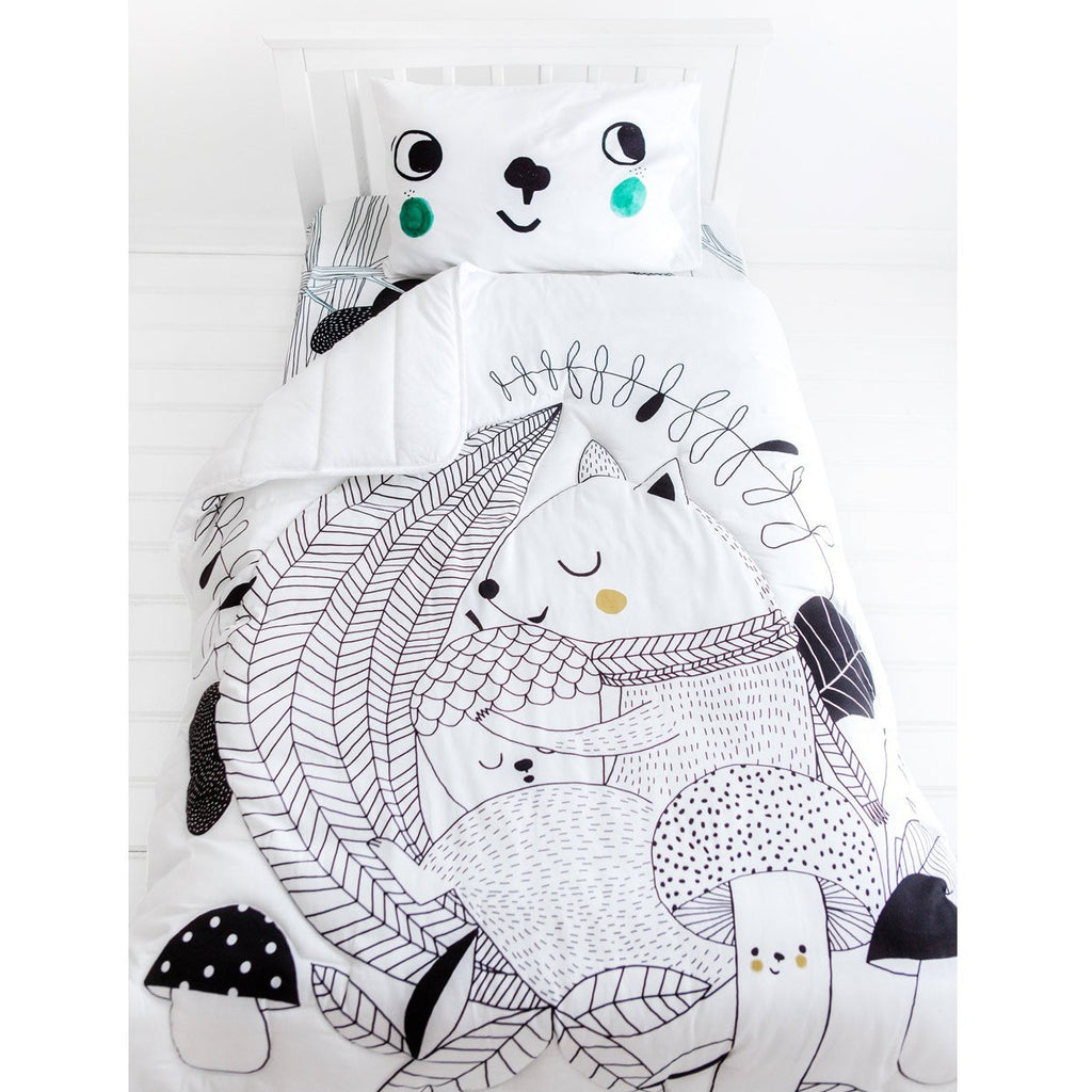 Rookie Humans Squirrel Toddler Comforter