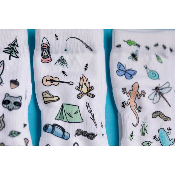 Squid Socks Camping Collection