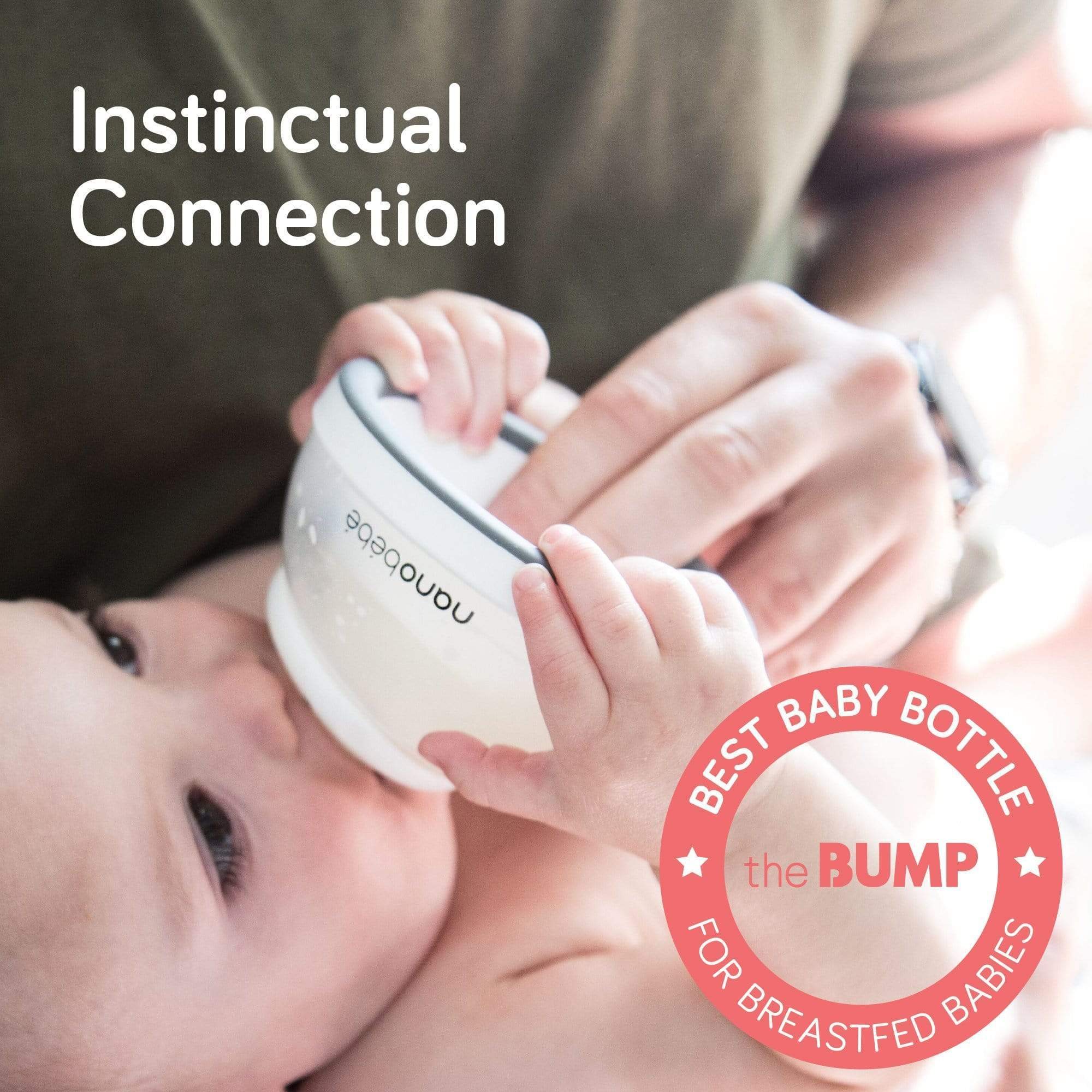 Nanobebe Breastmilk Baby Bottle