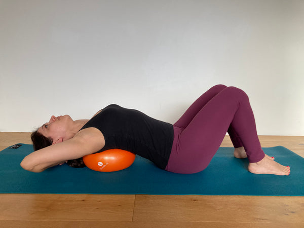Pilates chest opening
