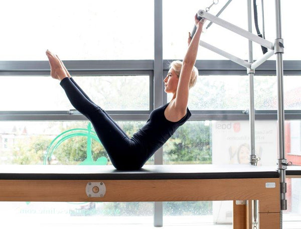 Pilates Cadillac exercises for Cyclists