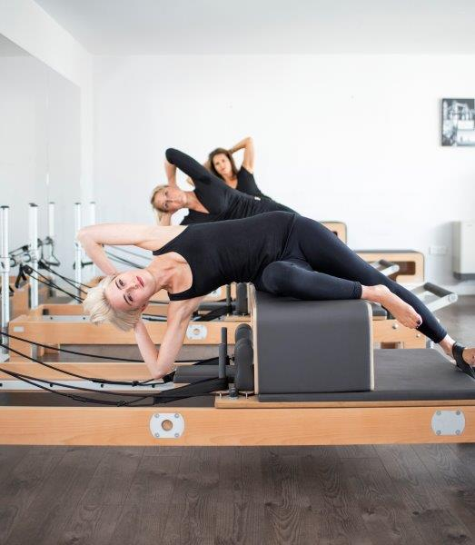 Pilates Reformer exercises for cyclists