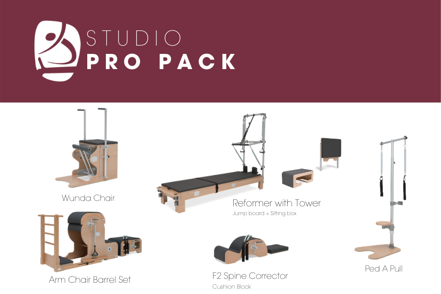 BASI Systems Pilates Studio Pro Pack