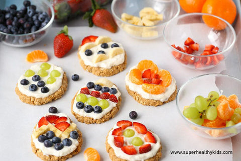 No bake easter egg fruit tarts recipe