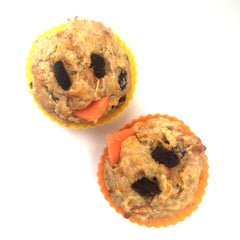 Carrot and apple chick muffins