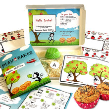 Apple Muffins healthy baking kit