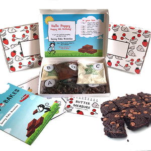 Date Brownies baking kit