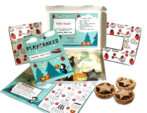 Cranberry Mince Pies baking kit