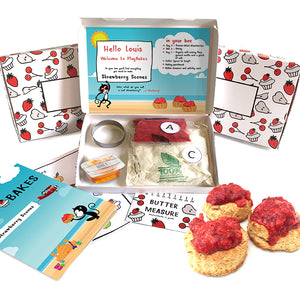 Strawberry scones baking kit
