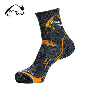 3Pairs 2017 Brand Coolmax Socks Men's Quick Dry Thermal Socks Breathable Antibacterial Thick Warm Socks for Men