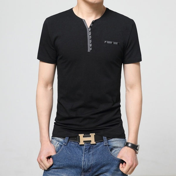 10 Designs Mens T Shirt Slim Fit Crew Neck Short Sleeve Casual Tee Size M-5XL - All2Wear.com