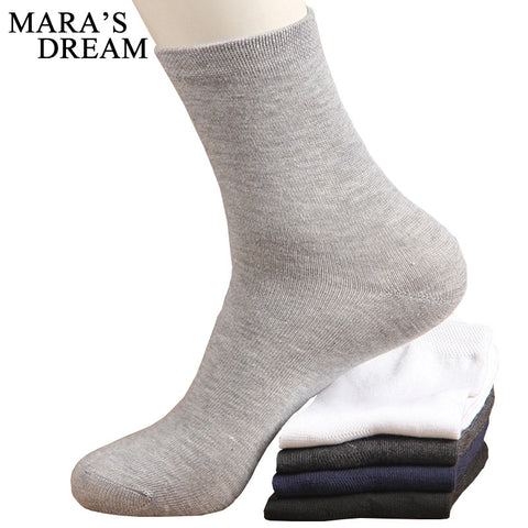 10pcs=5pairs/lot High Quality Men's Business Cotton Socks