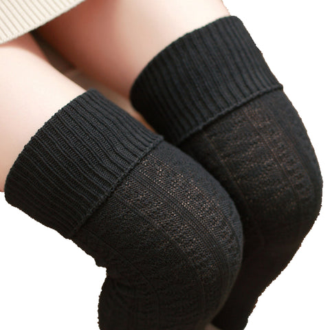 Compression Socks Women Autumn Warm Over Knee Socks Thigh High