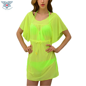 13 Colors , New Women skirt beach dress Sexy Bikini Swimwear cover-ups plus size