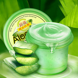 LAIKOU Face Aloe Vera Aloes Leaf Juice Gel Jelly Hydrating Moisturizing Reduce Acne Pores Sunburn Repair acne Soothing Skin Care
