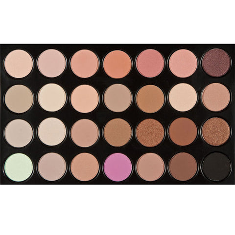 28 Colors Eyeshadow Eye Shadow Palette Shimmer Matte Earth Color Glitter Eyeshadow Palettes Cosmetic Makeup Set Nude Eye Shadow