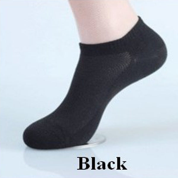 13Pairs Men's Ankle Socks Short Summer Mesh Breathable Thin Boat Socks For Male Solid Color Sock Slippers Casual Meias Masculino
