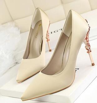2017 BIGTREE  Brand Shoes High Heel Shoes Women Pumps Zapatos Mujer Wedding Shoes Sapatos De Salto Alto  Lady Shoes 70 s