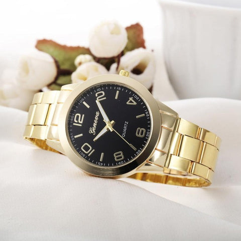 10 Colors Fashion Women Stainless Steel Watches Analog Quartz - All2Wear.com