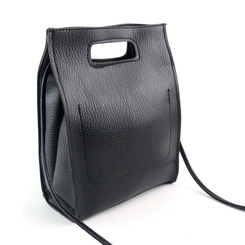 2016 New Women's Handbag Shoulder Bags Designer Hand Bags For Women Black Leather Bags Ladies Bag
